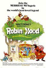 دانلود کارتون رابین هود با دوبله فارسی Robin Hood 1973 BluRay