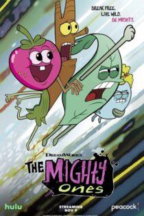 دانلود کارتون چهار نیرومند دوبله فارسی The Mighty Ones 2020