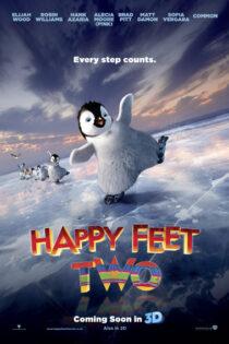دانلود انیمیشن خوش قدم ۲ دوبله فارسی Happy Feet Two 2011