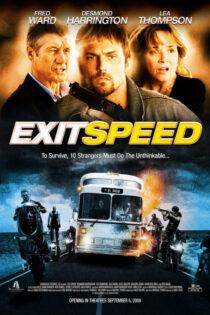 دانلود فیلم گریز مرگبار با دوبله فارسی Exit Speed 2008